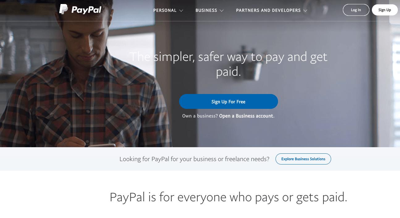 paypal site web