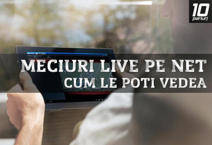 meciuri live pe net