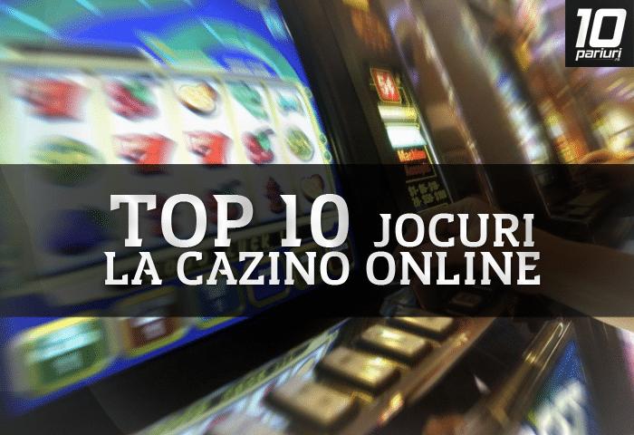 Top jocuri la Casino Online