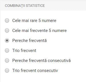 win for life - combinatii statistice