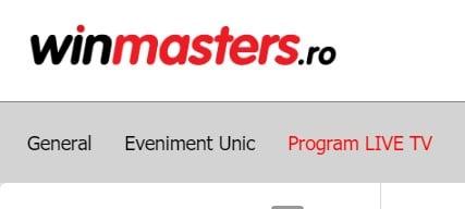 winmasters program tv