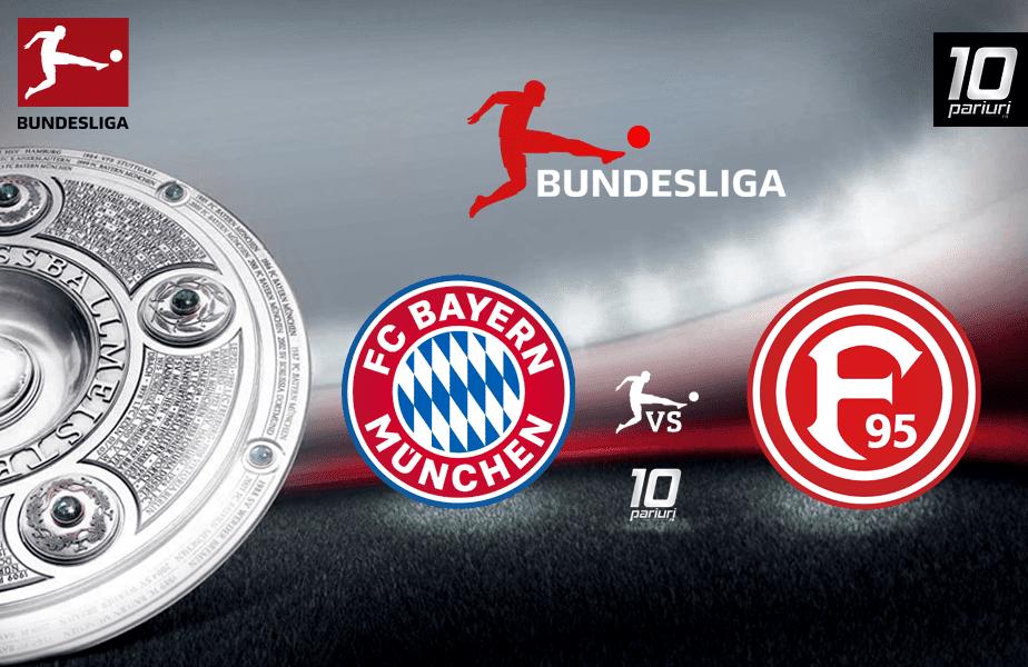 Bayern - Dusseldorf pronostic meci