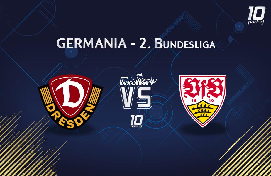 Dresda - Stuttgart liga secunda germana