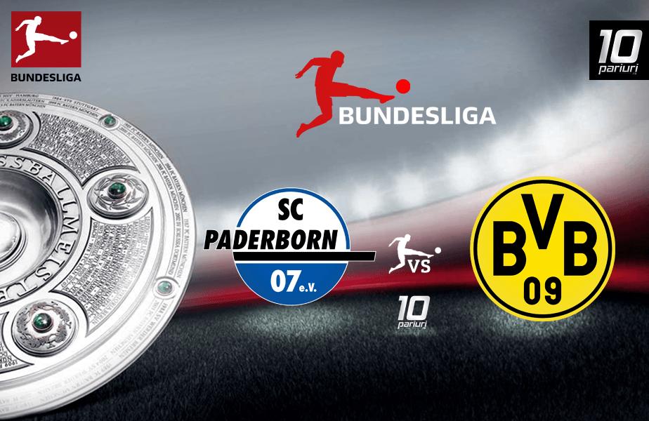 Paderborn - Dortmund meci Bundesliga