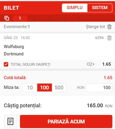 Wolfsburg - Dortmund