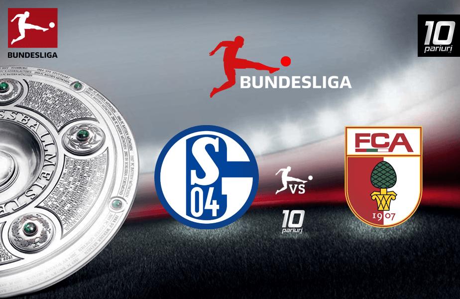 Schalke - Augsburg meci Bundesliga