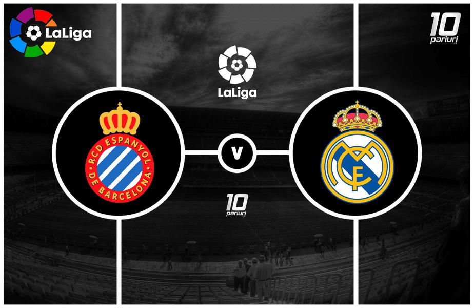 Espanyol - Real Madrid pronosticuri fotbal