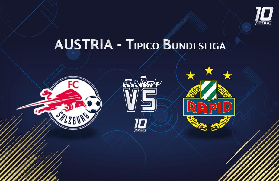 Salzburg - Rapid Viena meci Austria