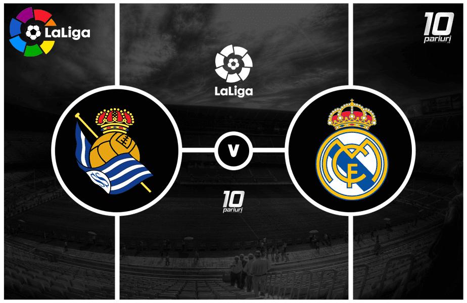 Sociedad - Real Madrid ponturi pariuri