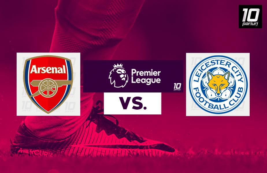 Arsenal - Leicester ponturi pariuri 25102020