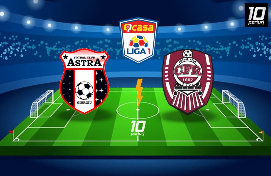 Astra CFR Cluj ponturi pariuri 05 07 2020