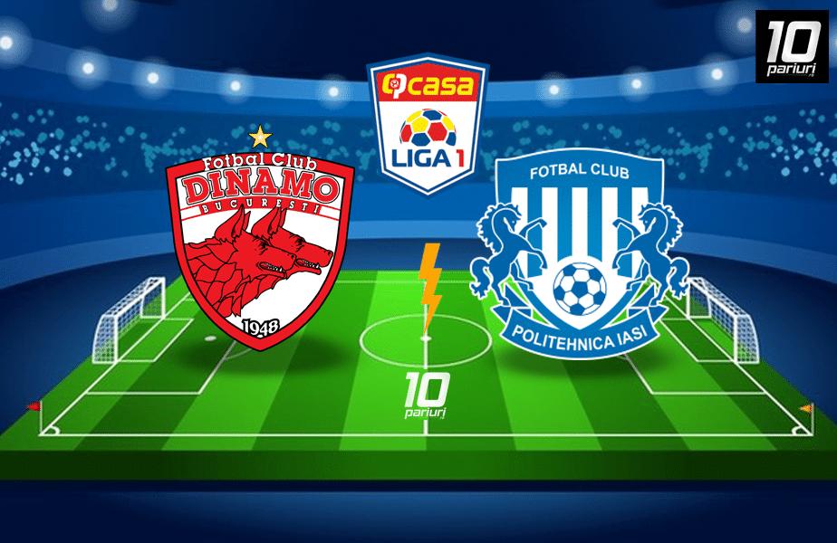 Dinamo - Poli Iasi ponturi pariuri