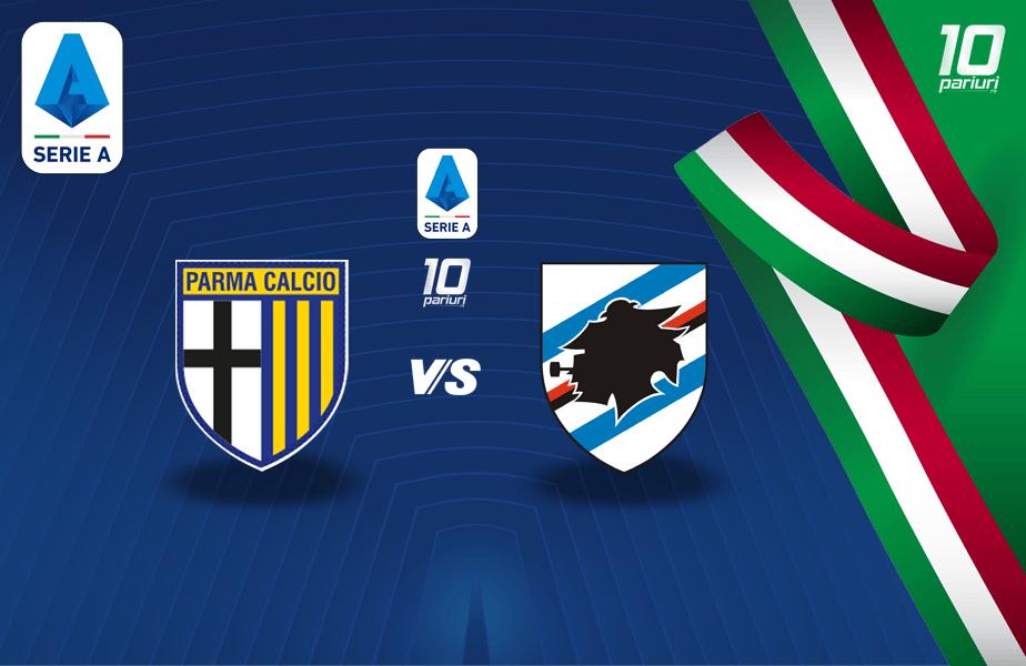 Parma - Sampdoria ponturi pariuri
