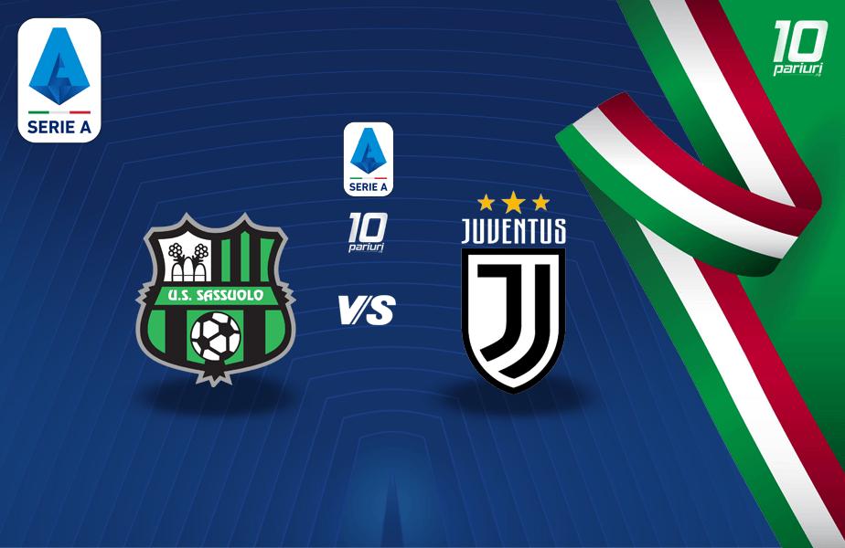 Sassuolo - Juventus - pronosticuri pariuri 12052021