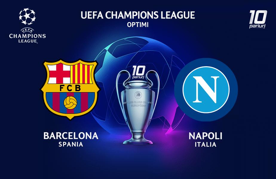 Barcelona - Napoli ponturi pariuri