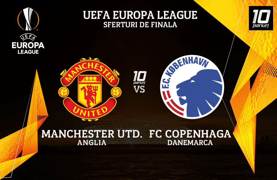 Manchester United - Copenhaga ponturi pariuri