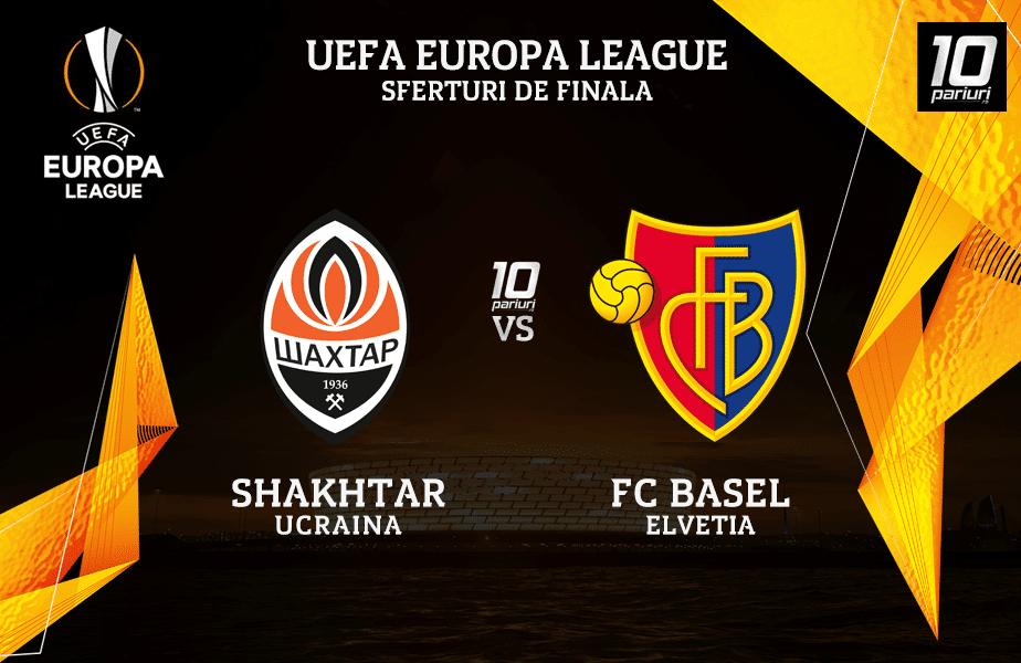 Shakhtar - Basel ponturi pariuri