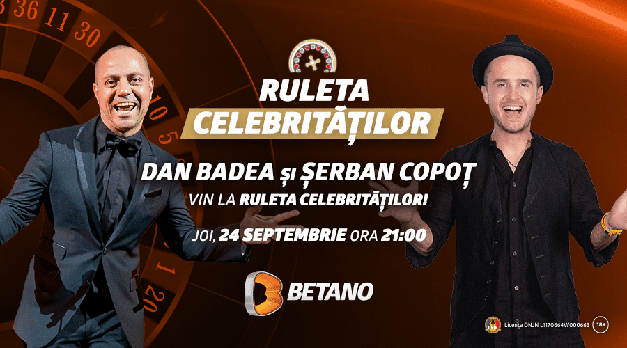 ruleta celebritatilor betano