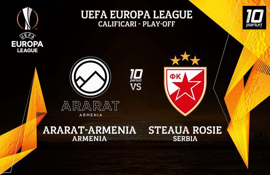 Ararat-Armenia - Steaua Rosie Belgrad ponturi pariuri