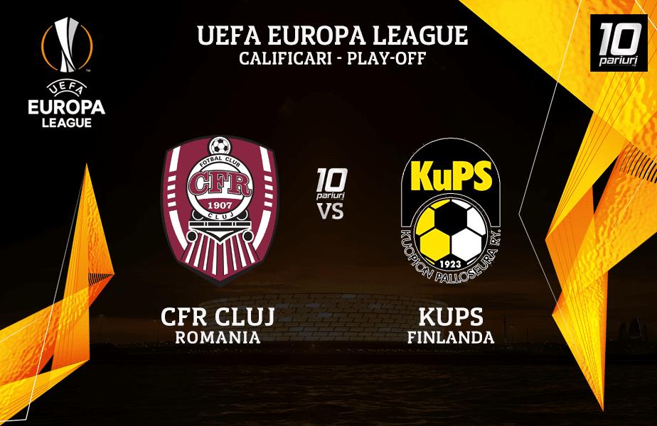 CFR Cluj - KuPS ponturi pariuri
