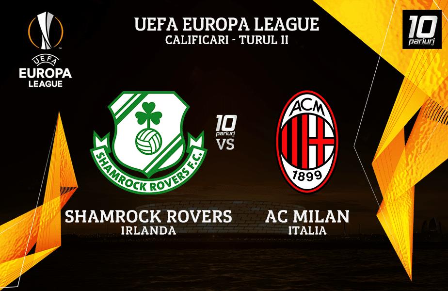 Shamrock Rovers AC Milan ponturi pariuri 17092020