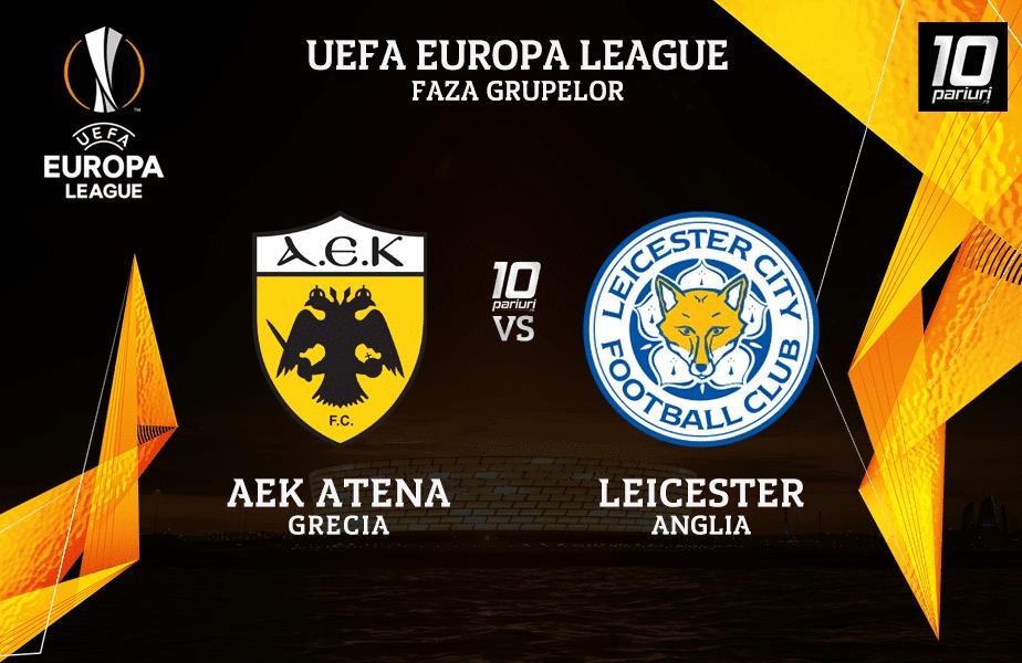 AEK - Leicester ponturi pariuri 29.10.2020