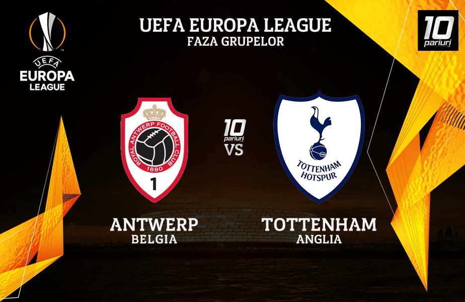 Antwerp - Tottenham ponturi pariuri 29.10.2020