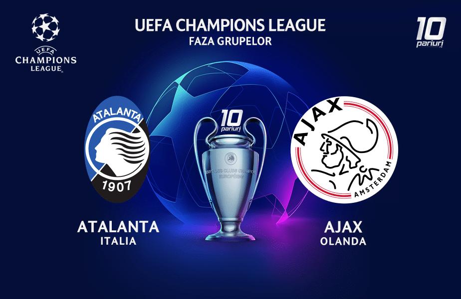 Atalanta - Ajax ponturi pariuri