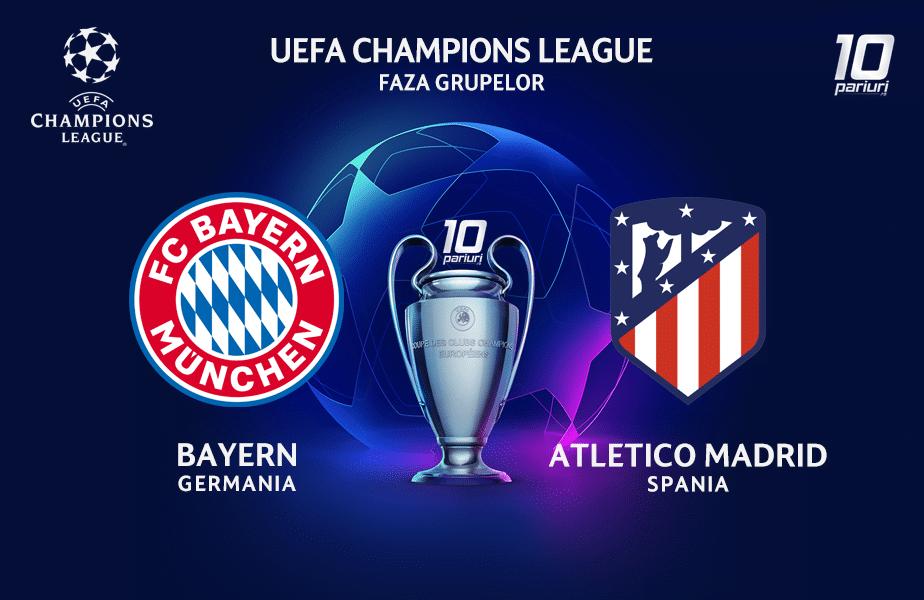 Bayern Munchen - Atletico Madrid ponturi pariuri