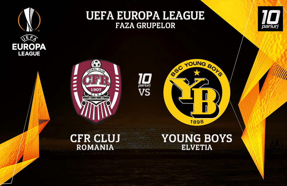 CFR Cluj - Young Boys ponturi pariuri 29102020