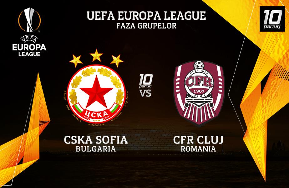 CSKA Sofia - CFR Cluj ponturi pariuri