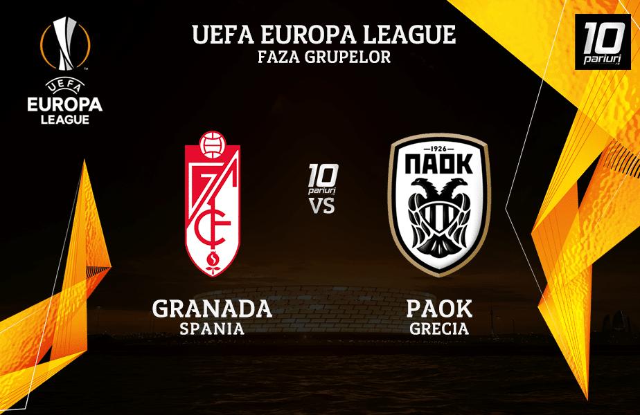 Granada - PAOK ponturi pariuri
