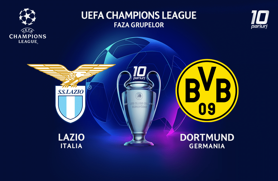 Lazio - Dortmund ponturi pariuri 20.10.2020