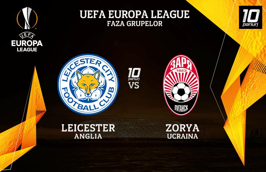 Leicester - Zorya ponturi pariuri 22.10.2020