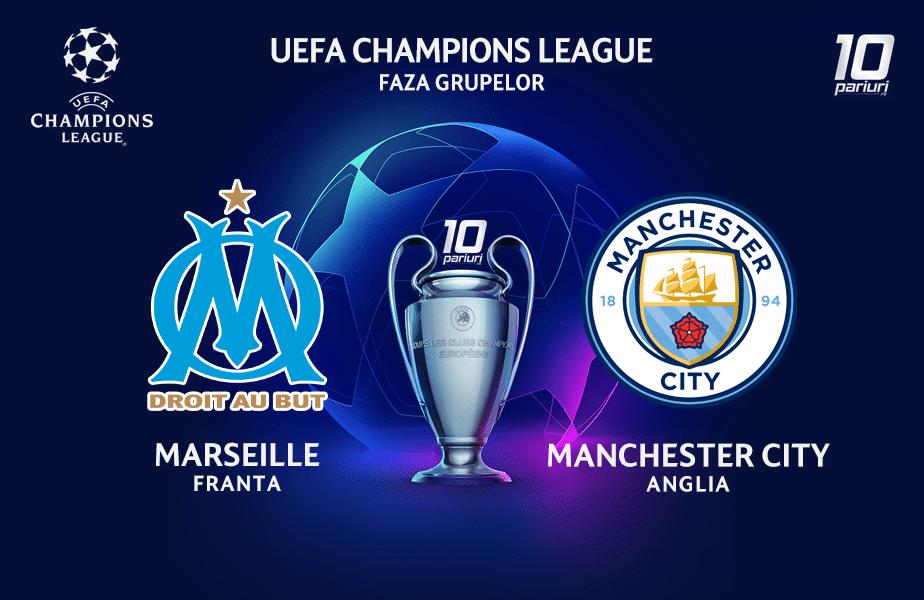 Marseille - Manchester City ponturi pariuri