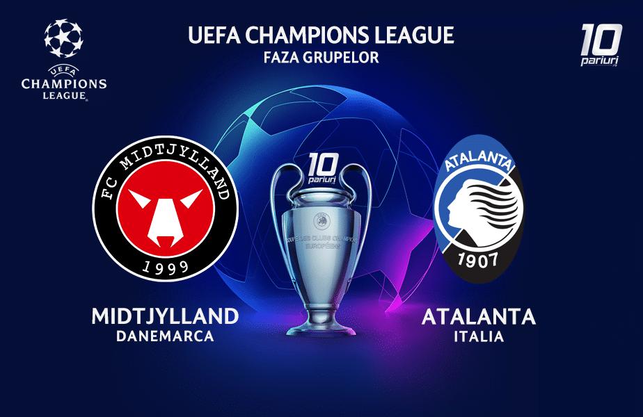 Midtjylland - Atalanta ponturi pariuri