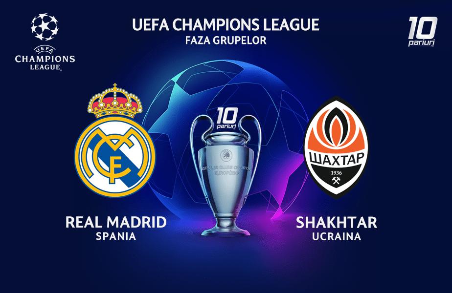 Real Madrid - Sahtior Donetsk ponturi pariuri