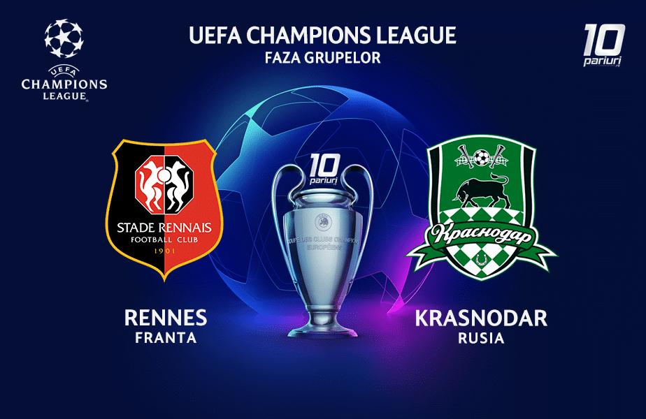 Rennes - Krasnodar ponturi pariuri 20102020