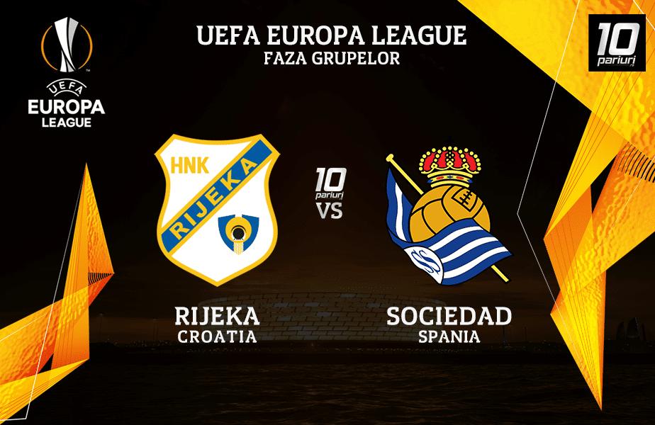 Rijeka - Sociedad ponturi pariuri 22.10.2020
