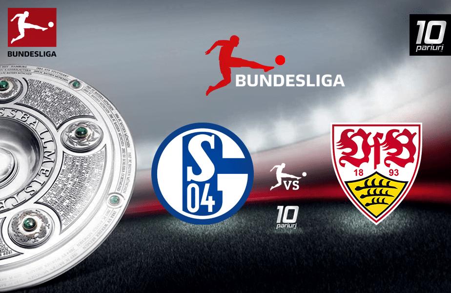 Schalke - Stuttgart ponturi pariuri