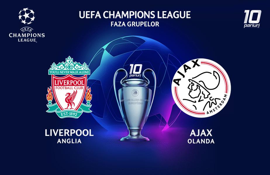 Liverpool - Ajax ponturi pariuri