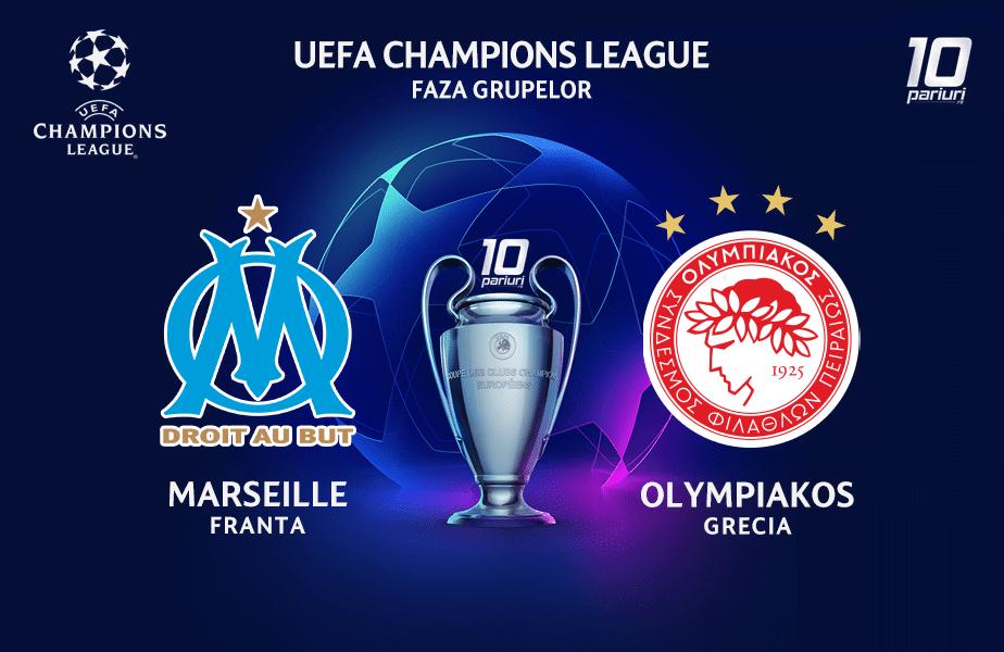 Marseille - Olympiakos ponturi pariuri
