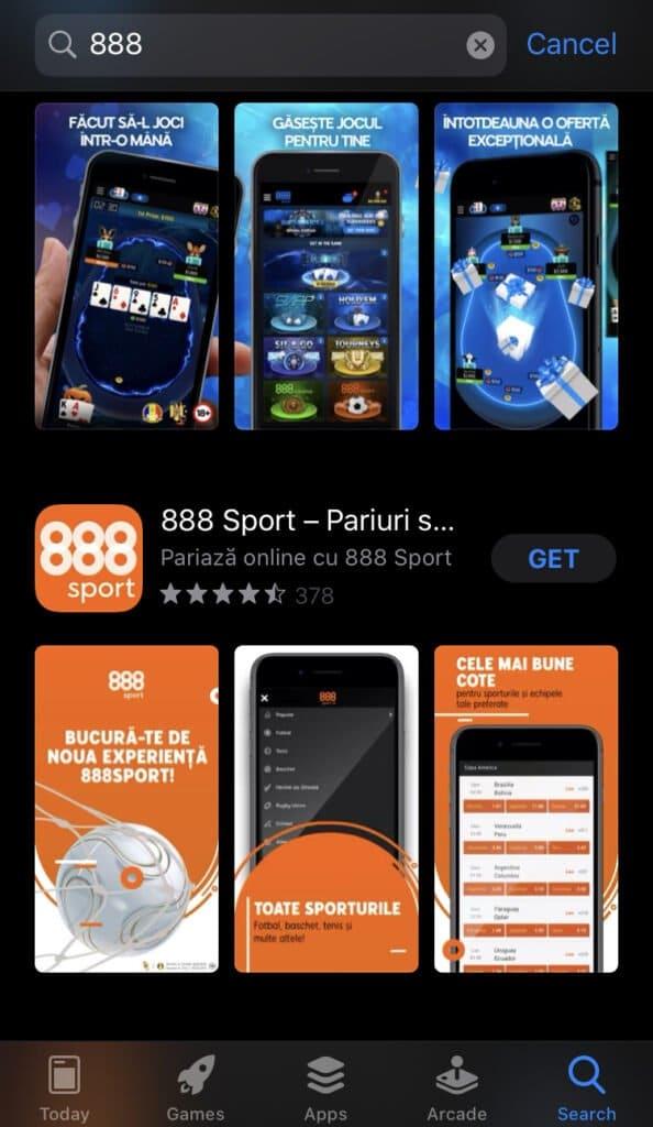 888sport aplicatie