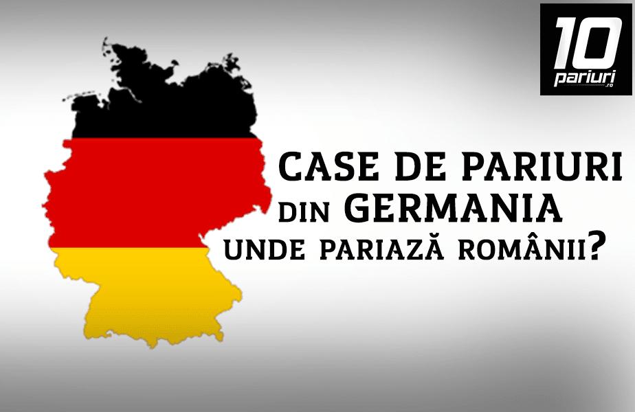 case de pariuri din germania