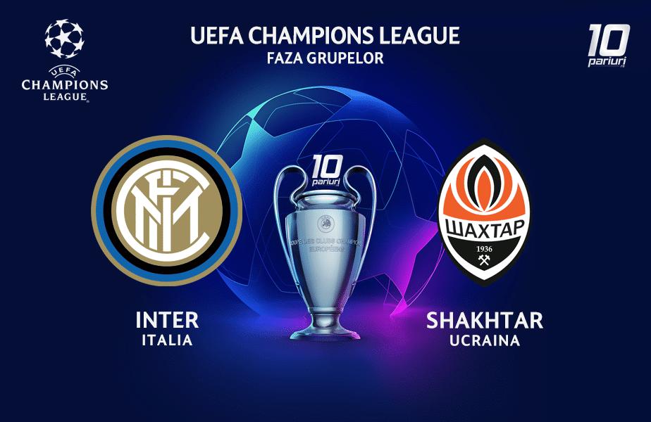 Inter - Shakhtar ponturi pariuri