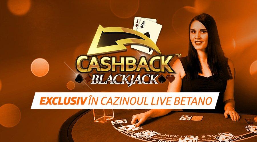 Cashback Blackjack Betano