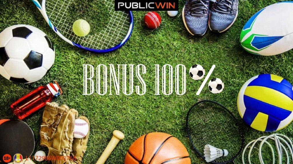 Bonus 100% Publicwin 21 Feb