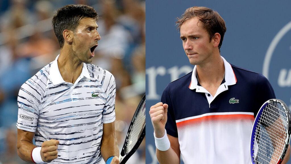 pronostic Novak Djokovic Vs Daniil Medvedev