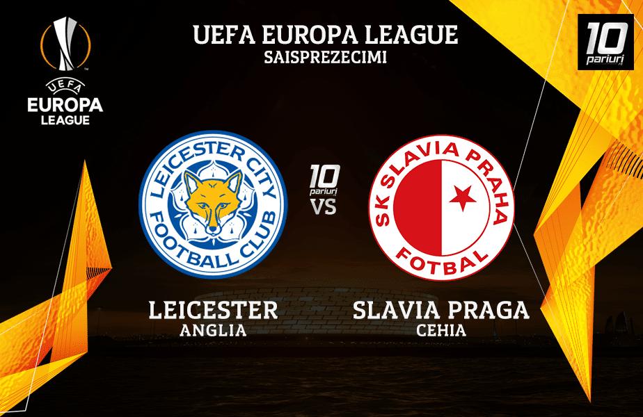 Leicester Slavia Praga Ponturi Pariuri