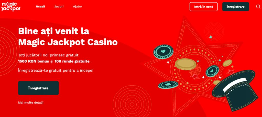 Magic Jackpot Inregistrare